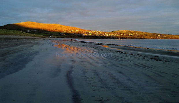 Last Rays of Sun on Ventry Beach