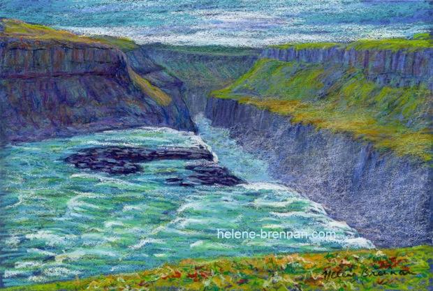 gulfoss waterfall wp