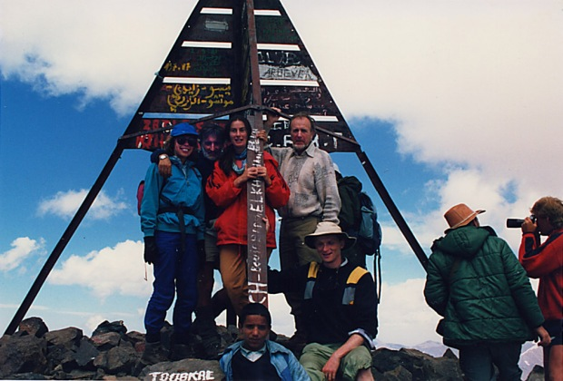 scan 177 group at top toubkal