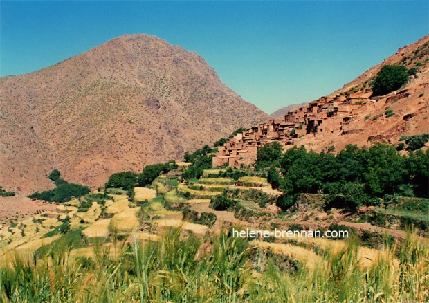 Village in High Atlas Mountains, Morocco