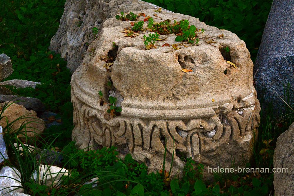 ancient column remains at Agia Kyriaki Chrysopolitissa DSC_1678