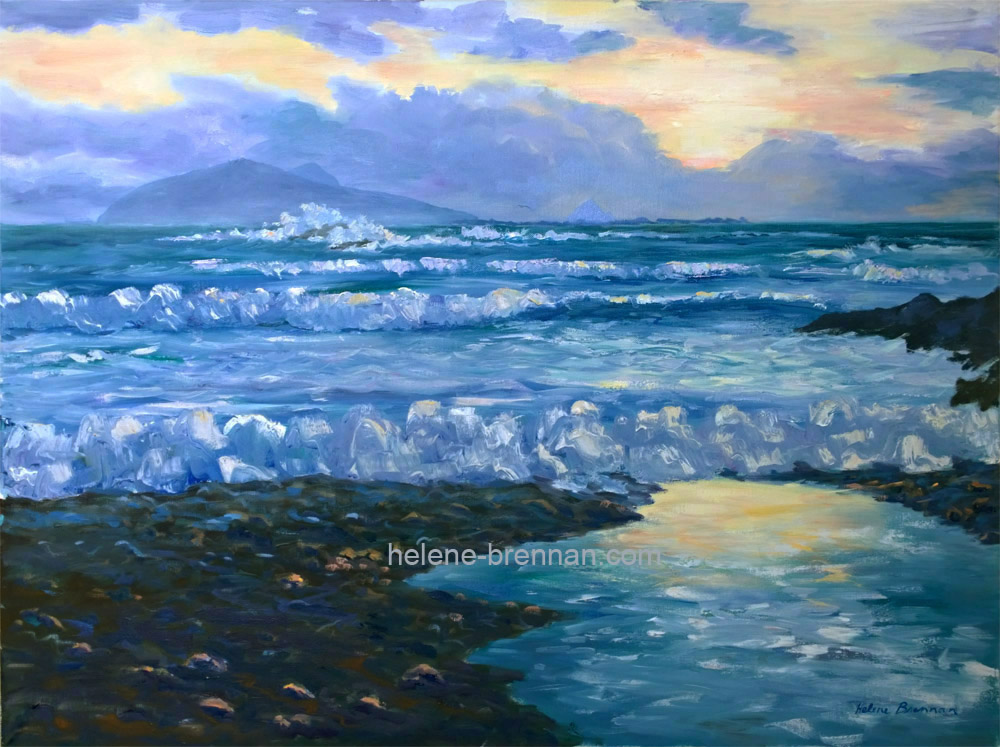 blaskets oil painting from beal atha wp