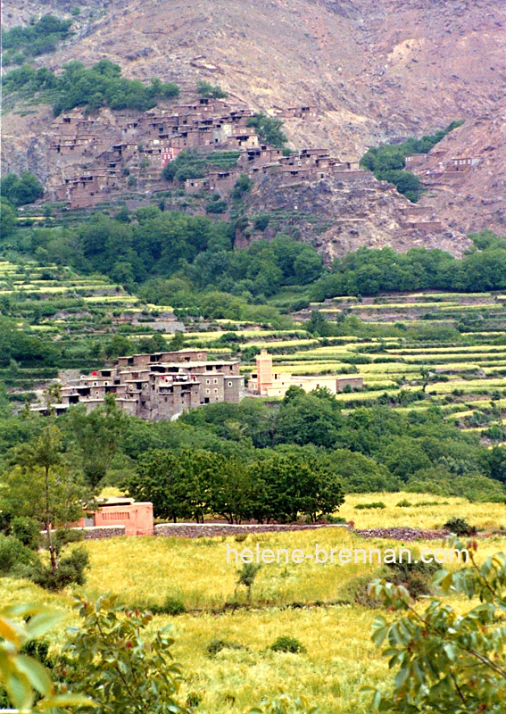 Berber Villages in the Hight Atlas Mountains