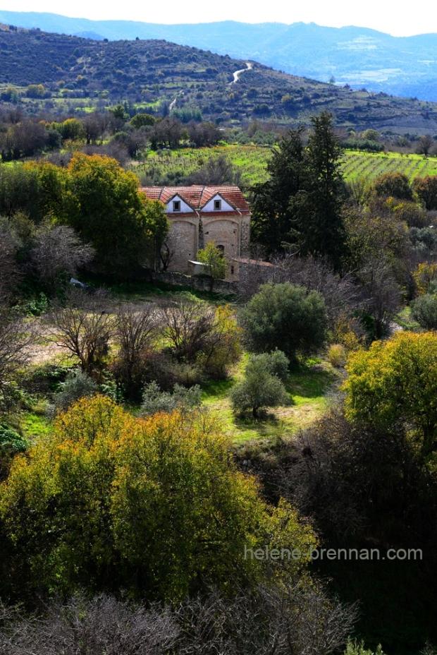 troodos landscape cyprus