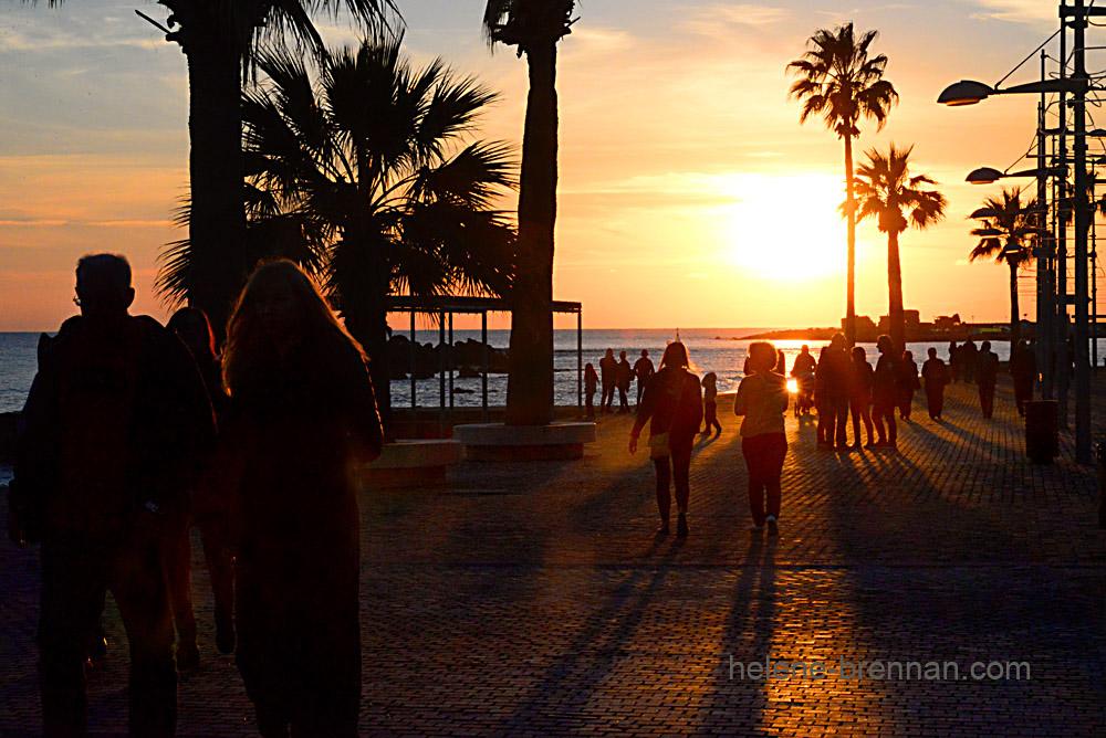 DSC_2160 sunset paphos harbour