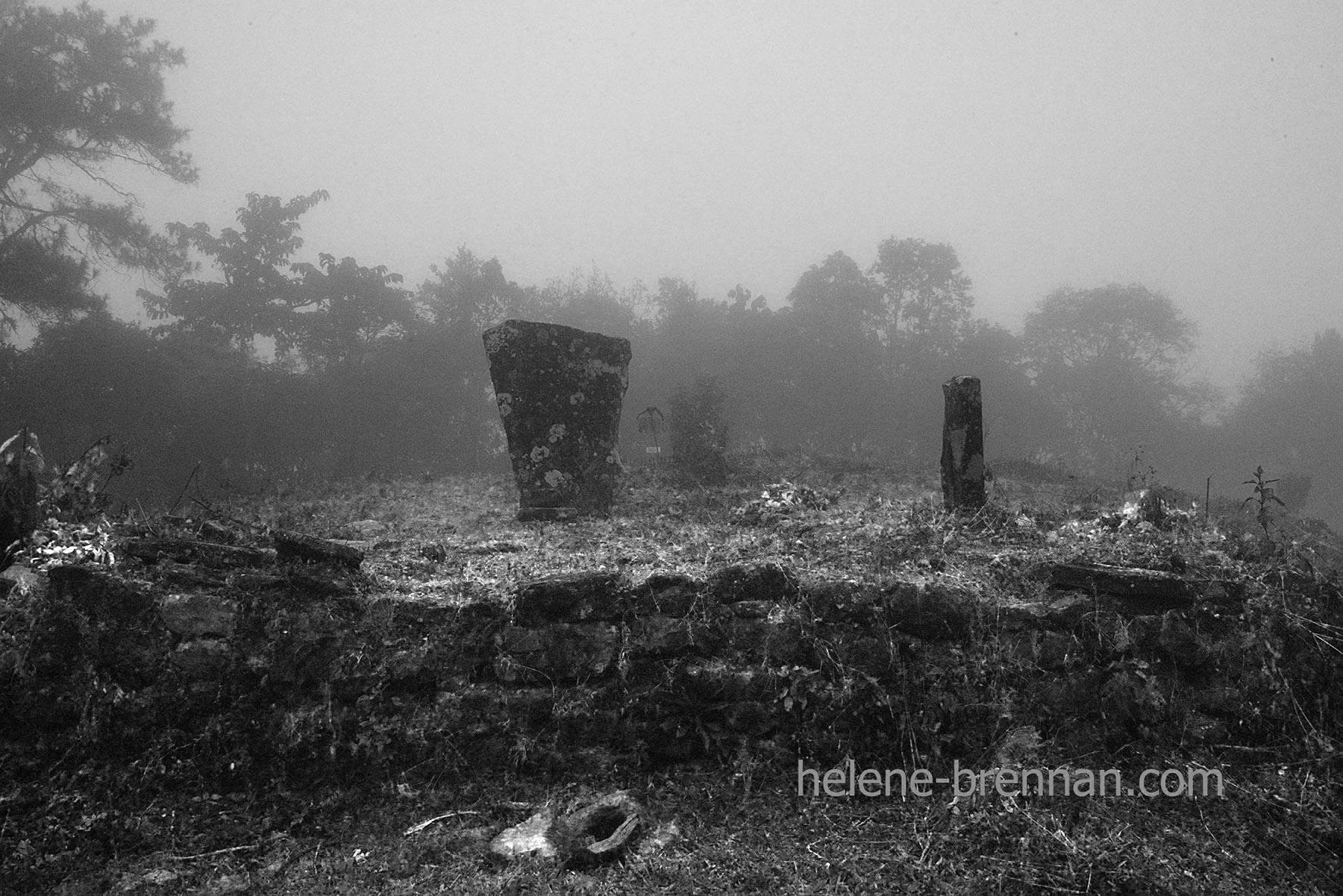 DSC_1137 childrens gravestones mizoram bw