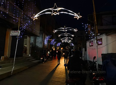 christmas lights in Aizawl_171047