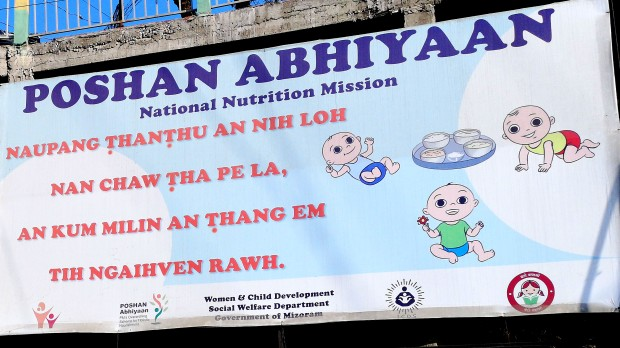 nutrition poster aizawl